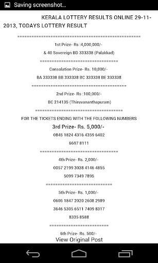 Kerala Lottery Results by Hanush (Google Play, United States