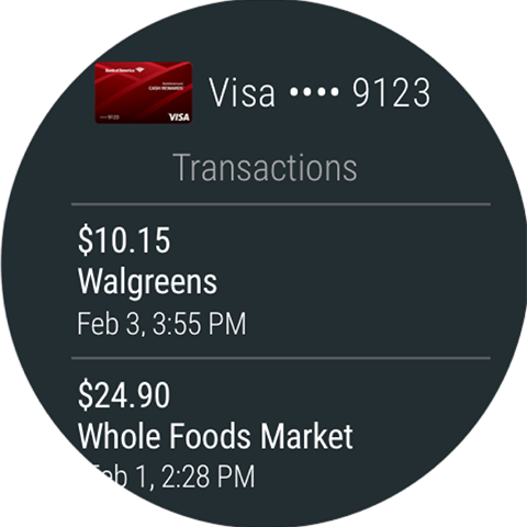 Screenshot 8 for Google Wallet's Android app'