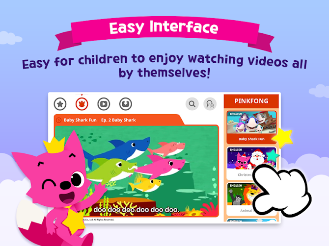 PINKFONG TV - Kids Baby Videos Android 7