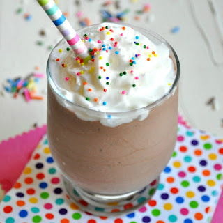 Chocolate Birthday Cake Protein Smoothie
