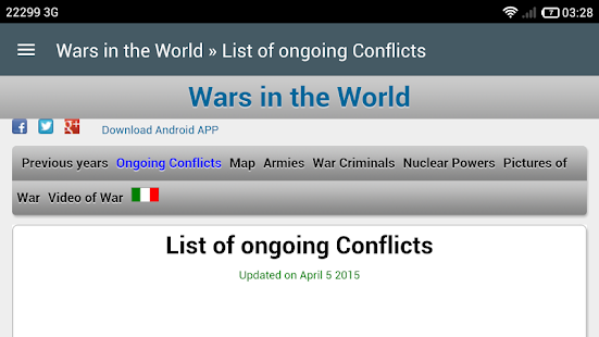 Wars in the World- screenshot thumbnail