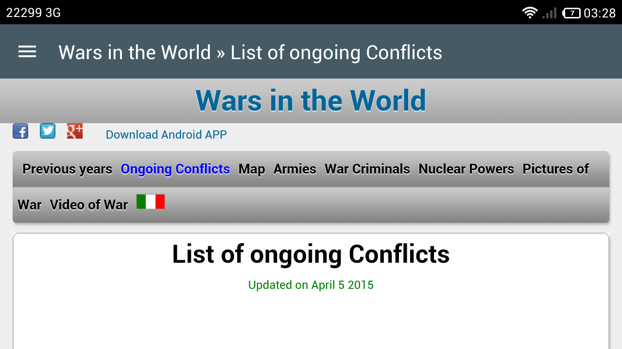 Wars in the World- screenshot