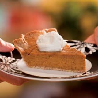 Holiday Pumpkin Pie.