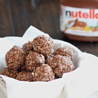 No-Bake Nutella Energy Bites