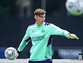Un jeune gardien belge se blesse avec le PSV Eindhoven
