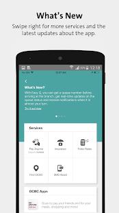 OCBC SG Mobile Banking - náhled