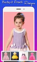 screenshot of Baby Frock Designs