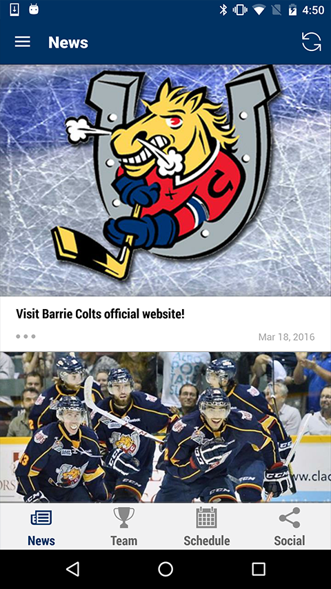 Barrie Colts- screenshot