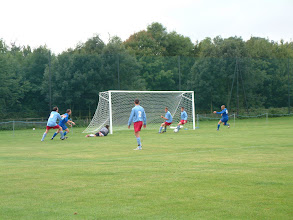 Photo: 10/09/05 v Old Parmiterians (Herts Senior County League Div 1) 3-1 - contributed by Martin Wray