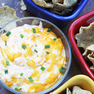 Buffalo Chicken Wing Dip.