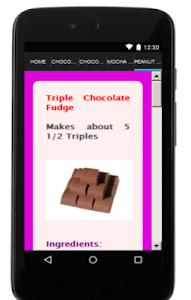 Chocolate Recipes screenshot 3