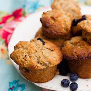Healthy Fruit Muffins.