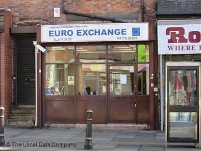 Euro exchange on melton road bureaux de change in city centre