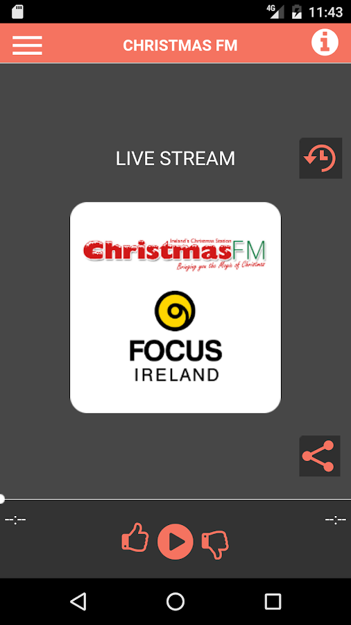 Christmas FM- screenshot