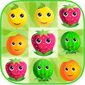 Fruit Splash Match Puzzle