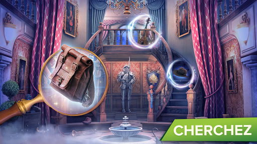 Mystery Manor : objets cachu00e9s  captures d'u00e9cran 2