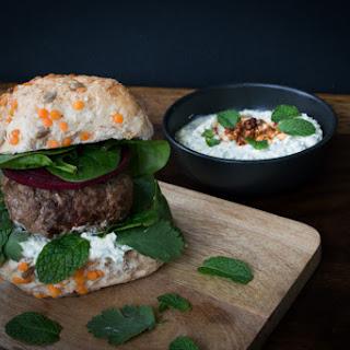 Lamb Burgers With Feta Cheese Mint Recipes