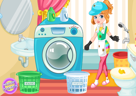 Game Laundry Machine- screenshot thumbnail