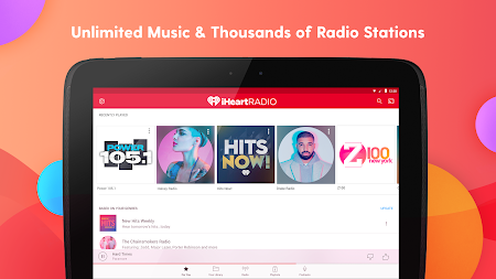 iHeartRadio - Free Music, Radio & Podcasts APK screenshot thumbnail 7