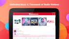 screenshot of iHeartRadio - Free Music, Radio & Podcasts