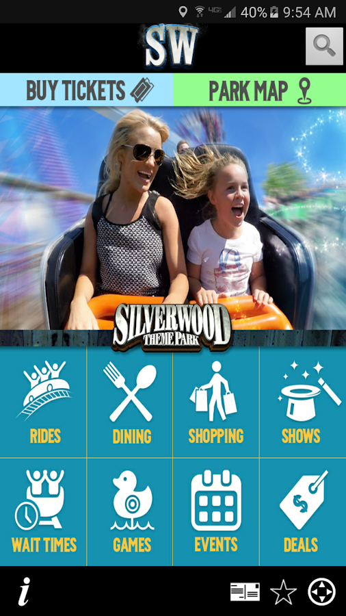 Silverwood Theme Park- screenshot