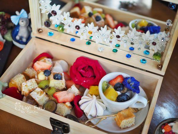 Coffee Cafe' 咖啡珈琲~超級夢幻珠寶盒早午餐,另有下午茶與晚餐!!台南中西區早午餐|台南新天地美食