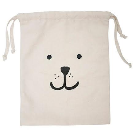 Tellkiddo Fabric Bag Bear Small