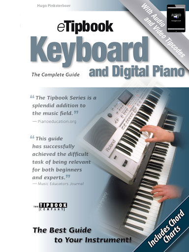 eTipbook Keyboard Dig. Piano