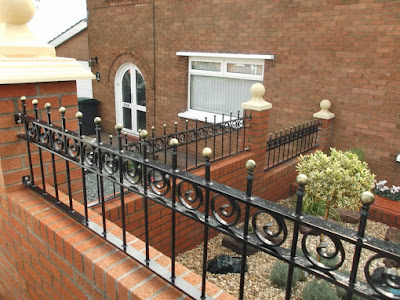 Rounded Top Railings and Gates