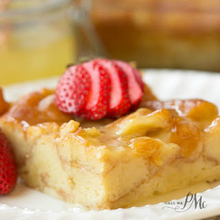 Dunkin Donuts® Bread Pudding.