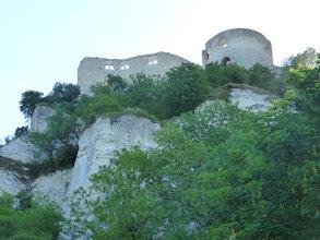 Photo: Première vue du Château Gaillard (Les Andelys 27).