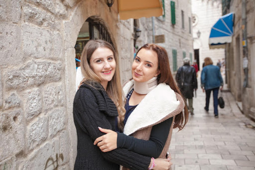 Two young shopkeepers I met along a cobblestone street in Old Kotor. Alas, they were on their shifts and spoke very little English.