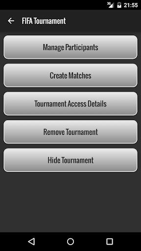 Tournament Manager 1.25 screenshots 1