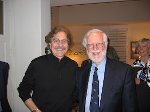 Photo: Professors Tom Banchoff and Ron Stern