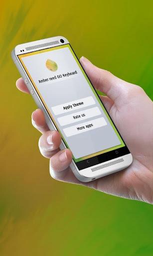 芦苇琥珀 GO Keyboard|玩個人化App免費|玩APPs