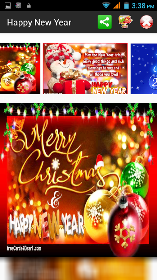 Happy New Year 2018 Greetings - Android Apps on Google Play