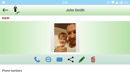 Contacts, phonebook, calls (SECRETARY)- screenshot thumbnail