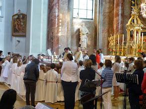 Photo: Wir singen gemeinsam das Vater Unser