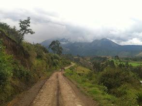 Photo: Yep, the road less traveled.