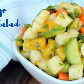 Crunchy Jicama Mango Salad