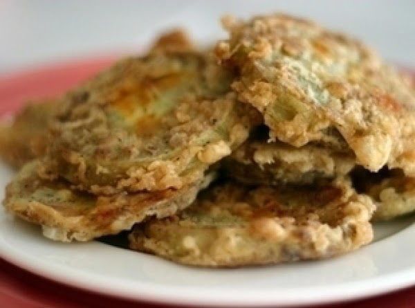 Linda's Southern Fried Green Tomatoes Recipe