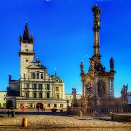 by Johana Starova - City,  Street & Park  Historic Districts