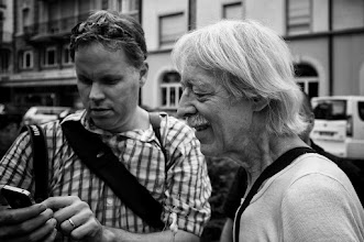 Photo: the garlic man  #gplusanniversary  #GPlusAnniversaryLuzern  #luzern06302012   #street #streettogs #streetphotography #shootthestreet #blackandwhite #bw #monochrome