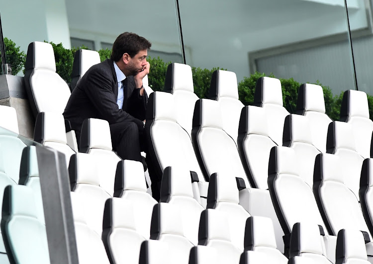 Juventus president Andrea Agnelli says they are pressing ahead.