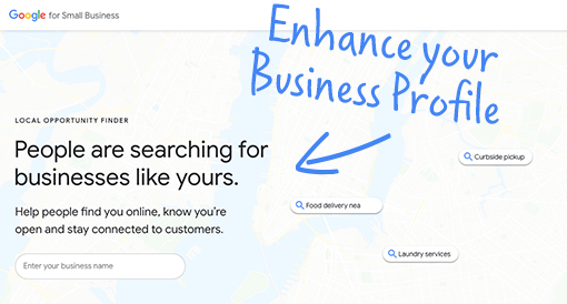 <h3>Enhance your Business Profile on Google</h3>