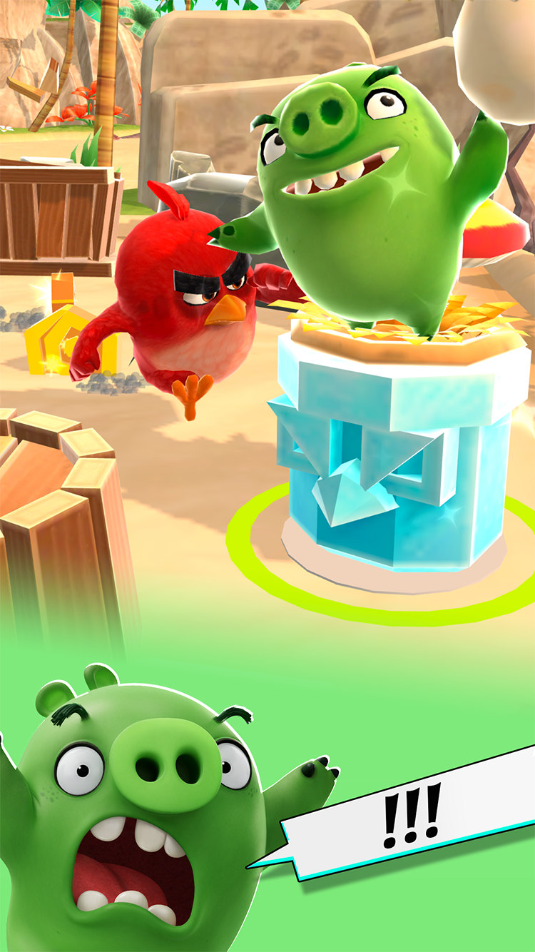 Angry Birds Action! screenshot #3