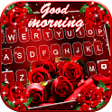 True Love Roses Keyboard Background icon