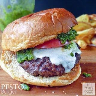 Pesto Burger.