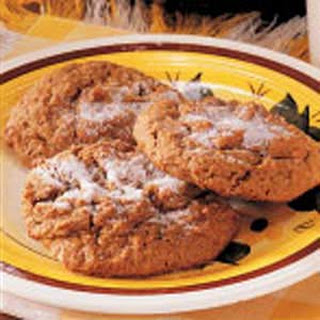 Chewy Ginger Drop Cookies.