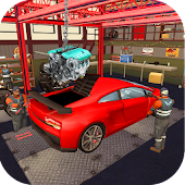 Car Factory 3D - Real Automobile Fixing Simulator
